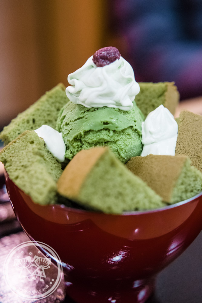 Kyousyouan Green tea parfait