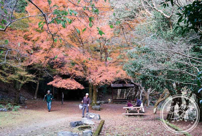Takao Tokai Nature Trail picnic spot