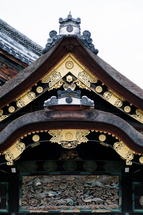 Nijo Castle Roof