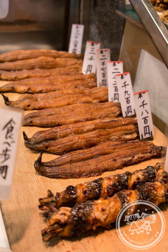 Nishiki Market Grilled Eel Shop