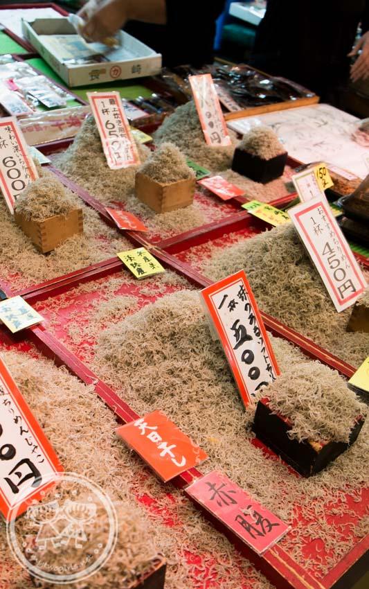 Nishiki Market Anchovy Shop