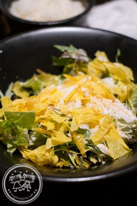 Yaoki Yuba (bean curd skin) Salad