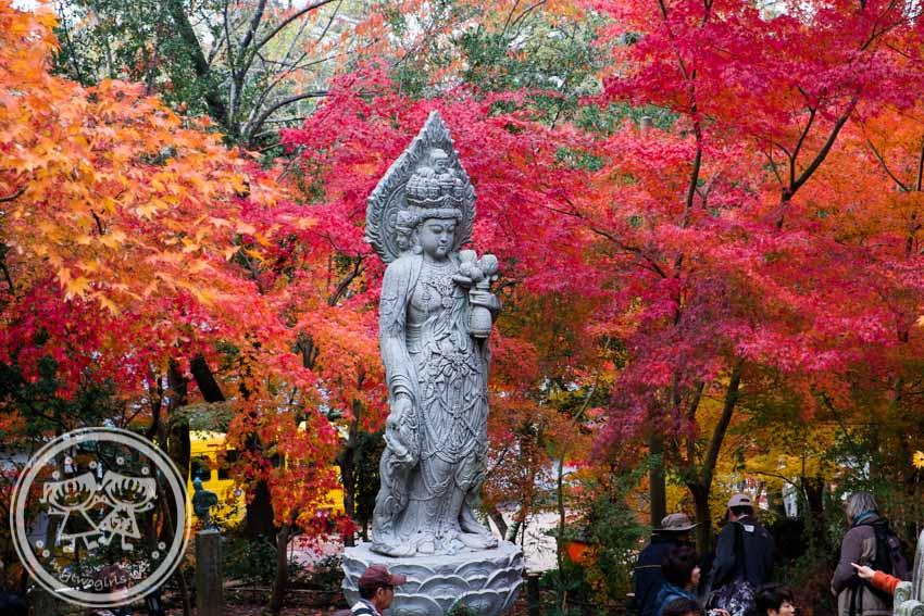 Eikando statue