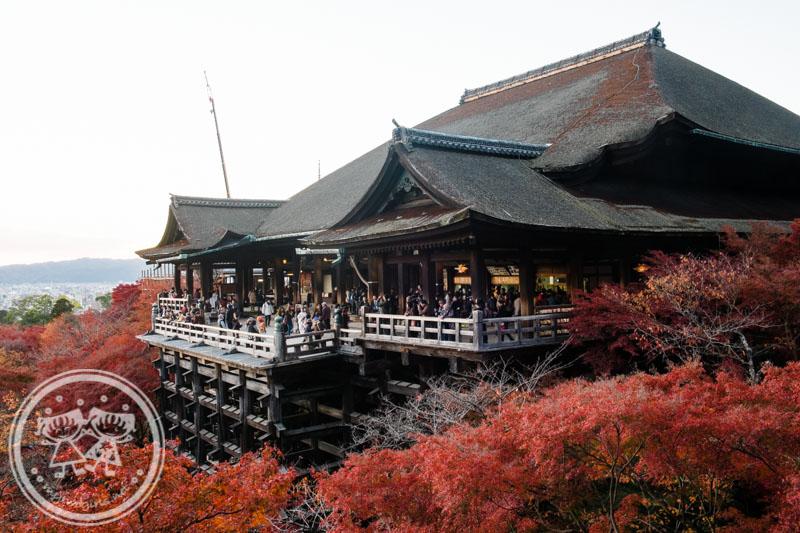 Sunset at Kiyomizu Stage