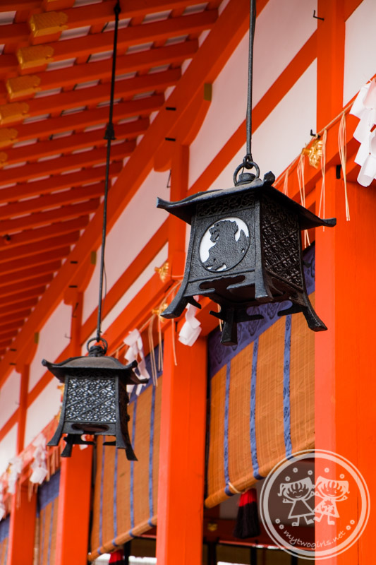 Lanterns at Fushimi Inari Shrine