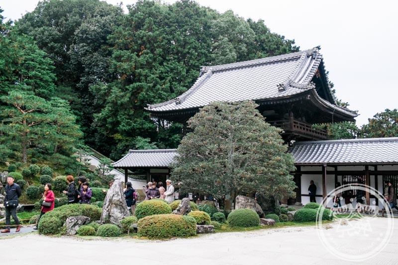 Zen garden in Tofukuji