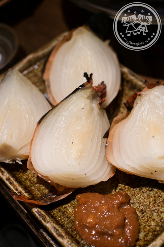The grilled onion at 葱や平吉