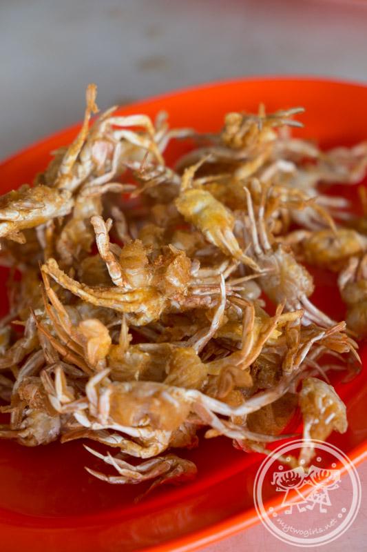 Kuala Sepetang Seafood Fried Little Crabs