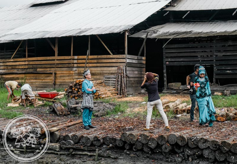 Kuala Sepetang Charcoal Factory Wedding Shoot