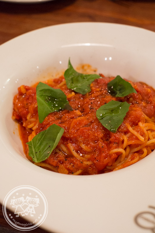 Bene Pesce Tomato Pasta