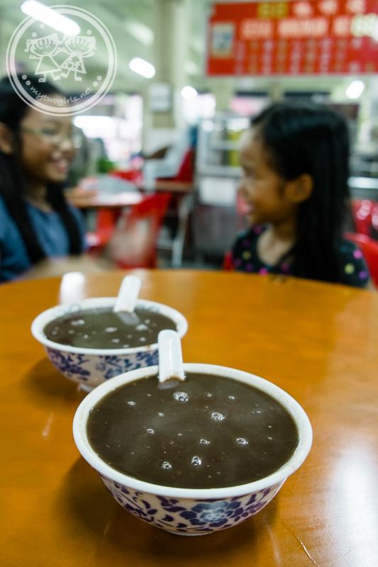 Larut Matang Food Court Red Bean Soup